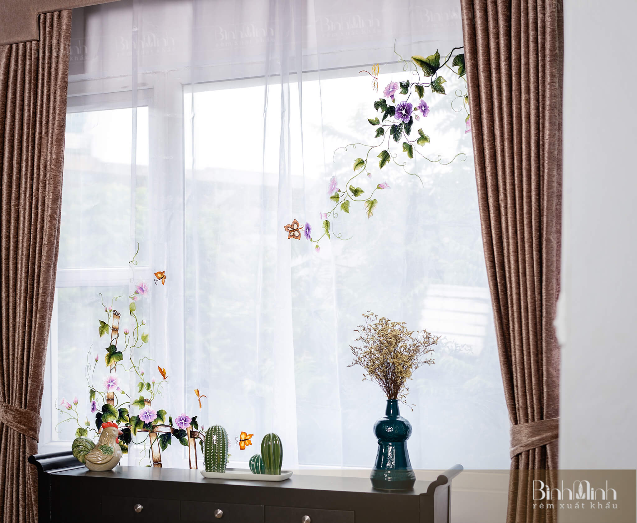 Những mẫu rèm cửa đẹp cho khách sạn, nhà hàng cao cấp - sang trọng
