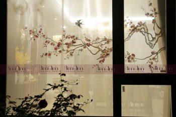 Những mẫu rèm thêu hoa đào vô cùng tinh tế`Những mẫu rèm thêu hoa đào vô cùng tinh tế
