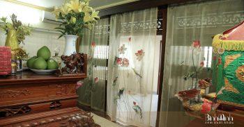 Cách lựa chọn rèm phòng thờ đẹp, hợp phong thủy