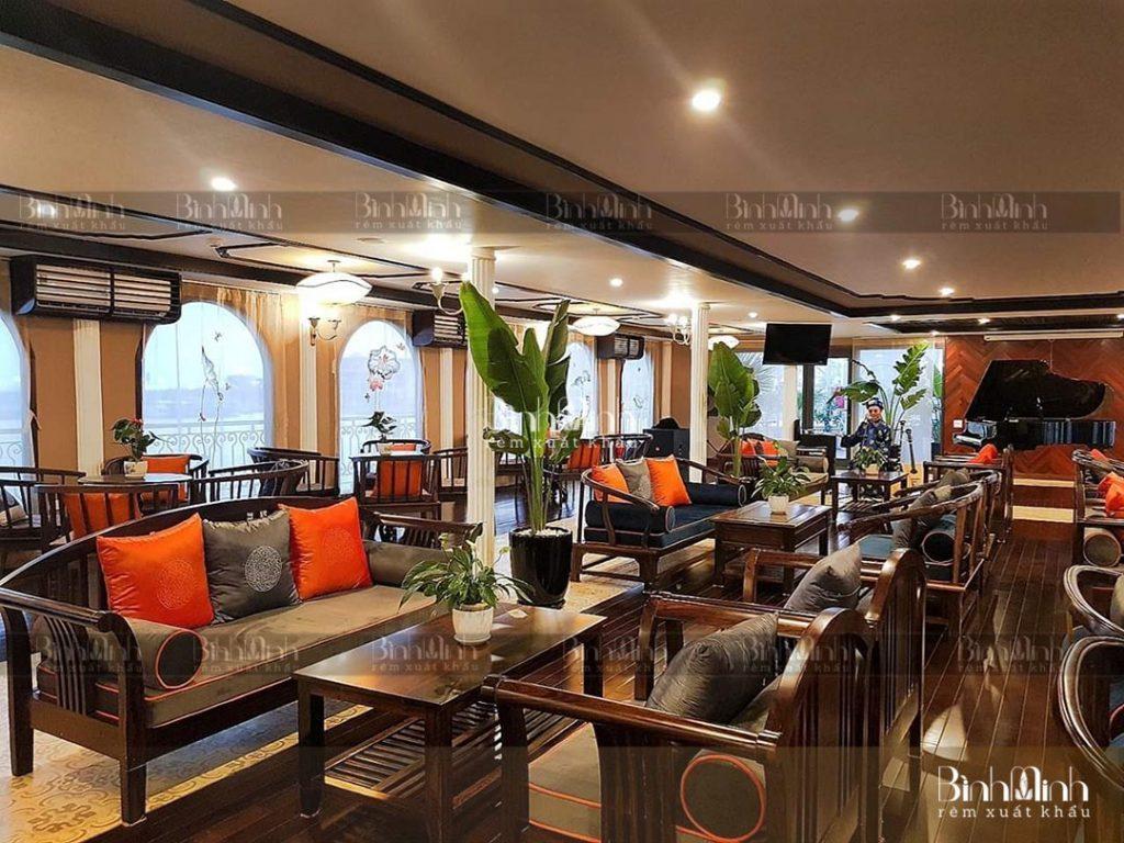 Gợi ý rèm nhà hàng đẹp chất lượng - Phù hợp với nhà hàng cao cấp
