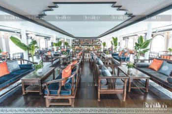 Rèm nhà hàng cao cấp thiết kế đa dạng, thu hút mọi ánh nhìn