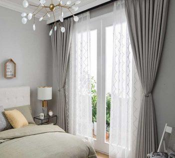 Thế nào là mẫu rèm đẹp cho phòng ngủ hiện đại, tinh tế