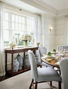 5+ mẫu rèm phòng ăn đẹp, thiết kế sang trọng, ấm cúng