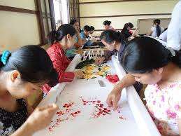 Lịch sử phát triển của làng thêu Minh Lãng