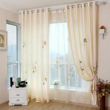 Lựa chọn họa tiết cho rèm cửa sổ cho phòng ngủ